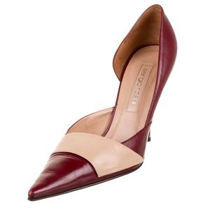 Sergio Rossi Leather d'Orsay Pumps